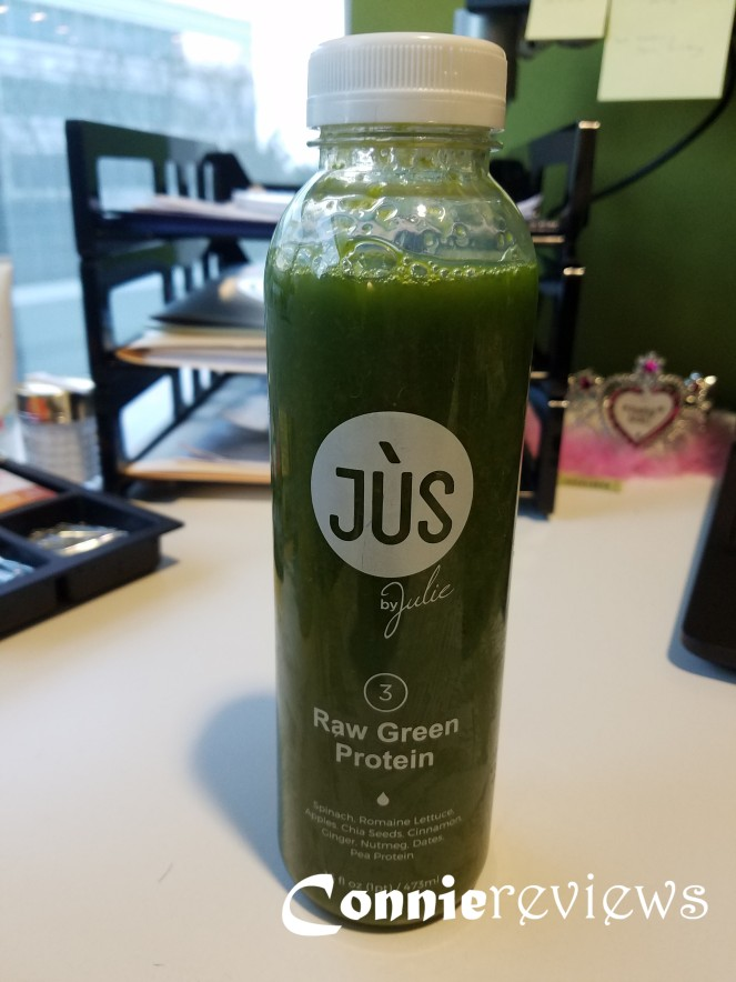 Jus by Julie Raw Green Protein