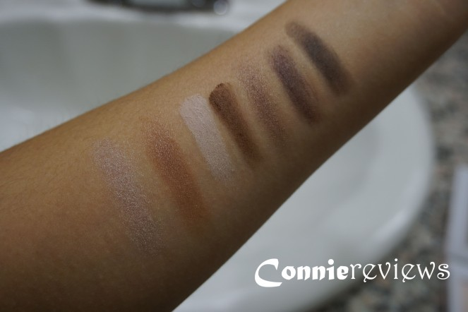 Lorac Tails & Top Hats Eye Shadow Palette Swatches