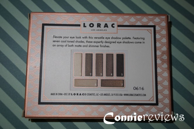 Lorac Tails & Top Hats Eye Shadow Palette