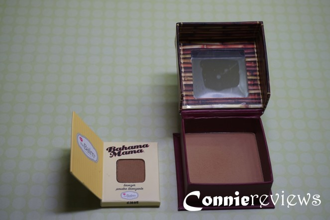 theBalm bronzer and benefit hoola