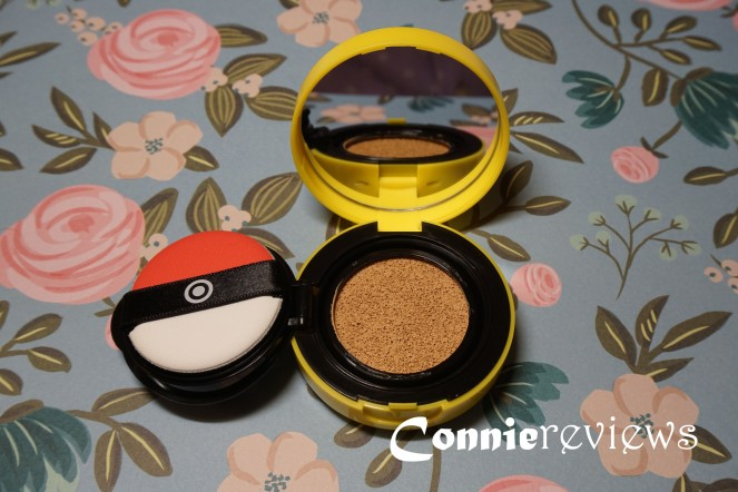 Tony Moly Pikachu Mini Cover Cushion #2 Warm Beige