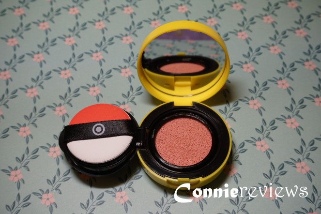 tony moly mini cushion blusher pink fantasy