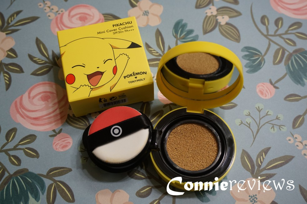 Tony Moly Pikachu Mini Cover Cushion
