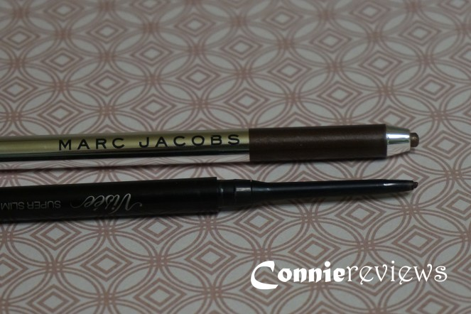 Visee Super Slim Gel Liner and Marc Jacobs Highliner