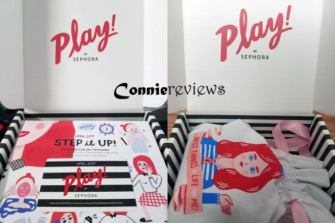 Sephora April 2017 Play Box