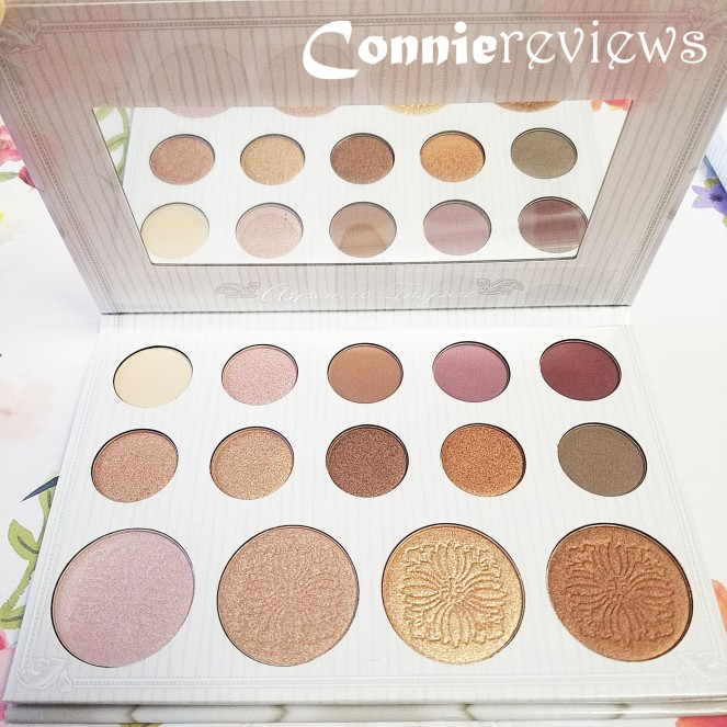 Carli Bybel Eye and Highlighter Palette