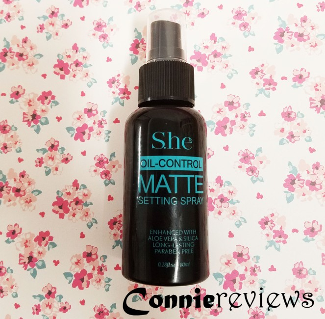 S.he Cosmetics Matte Setting Spray