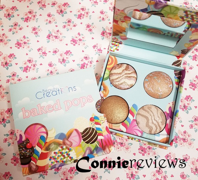 Beauty Creations baked pops highlighter palette