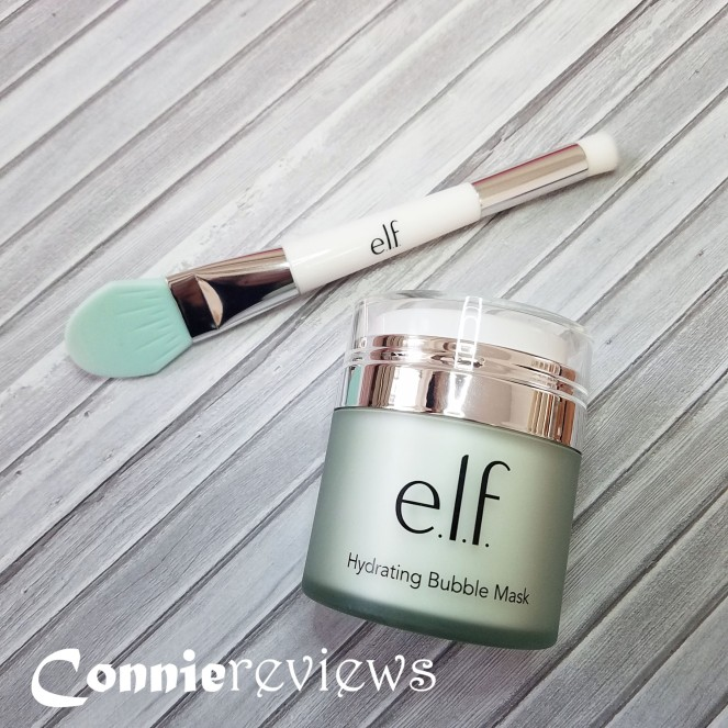 E.L.F. Hydrating Bubble Mask and Mask Tool