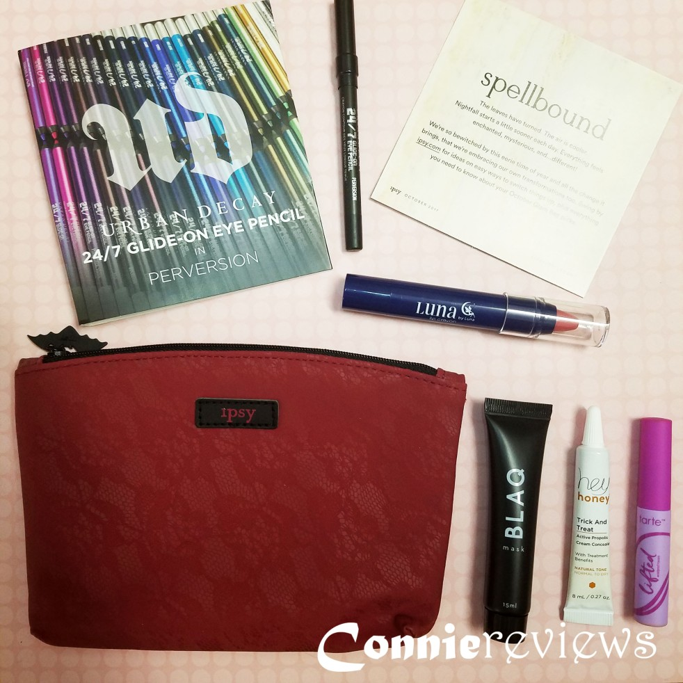 Ipsy October 2017 Glam Bag