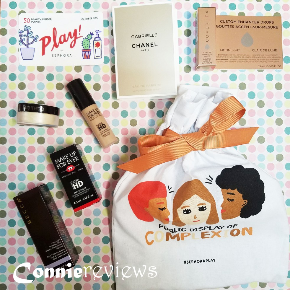 sephora play box october