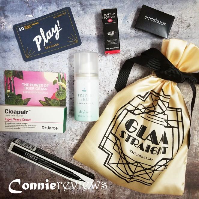 Sephora December 2017 Play Box