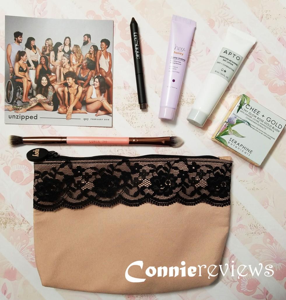 Ipsy February 2018 Glam bag