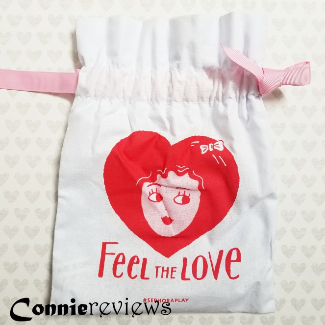 Feel the Love makeup bag