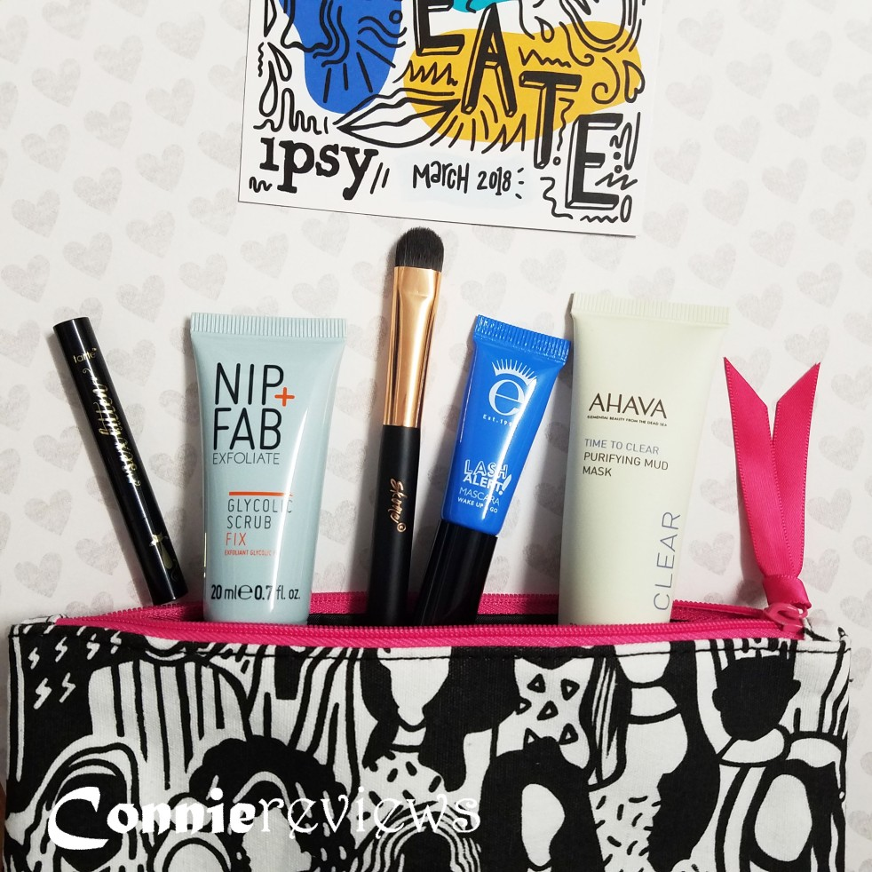ipsy march 2018 glam bag