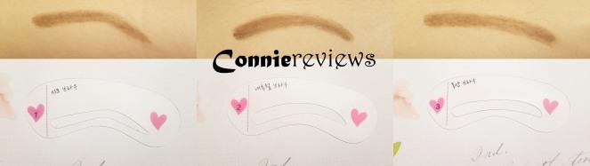 showroom eyebrow stencil