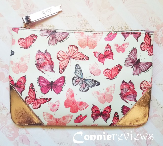 butterfly ipsy makeup bag