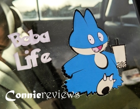 Boba Life Munchlax Decal